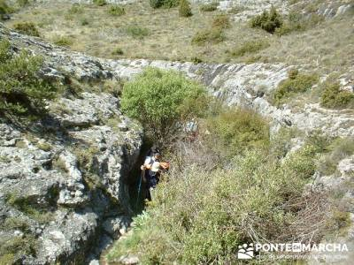 Barranco de Borbocid - trekking and hiking; senderismo guadarrama